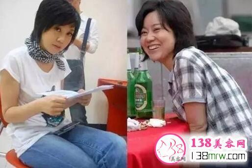 47岁闫妮比女儿还要美 逆天童颜还是靠减肥的功劳