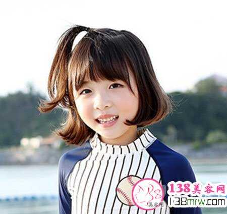小女孩扎发型图片 可爱扎发每天不重样