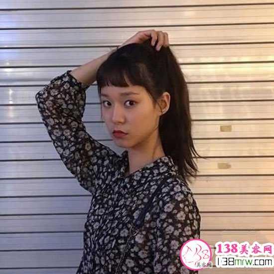 二次元刘海适合的发型 二次元短发刘海时尚更减龄