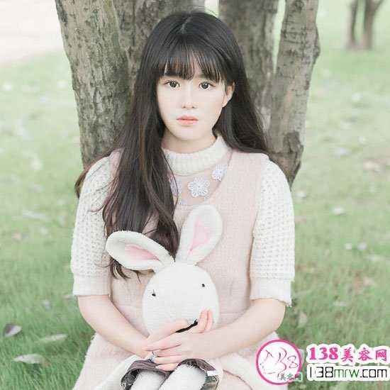 女生刘海发型图片最新款 韩国小姐姐大爱款式